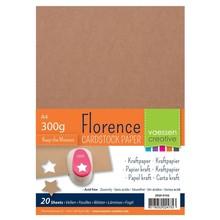 Vaessen Creative Florence Kraft Papier A4 Pack (2920-0102)