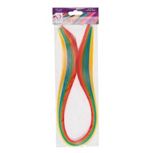 Docrafts Quilling Paper Strips Brights (3mm) (100pcs) (QCR 873104)