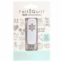 We R Memory Keepers Foil Quill USB Design Drive Holiday (660687)