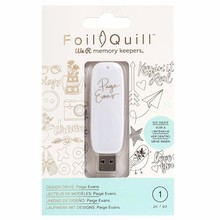 We R Memory Keepers Foil Quill USB Design Drive Paige Evans (660690)