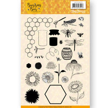 Jeanine's Art Buzzing Bees Clear Stamp Set (JACS10028)