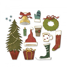 Sizzix Thinlits Alterations Festive Things (664191)