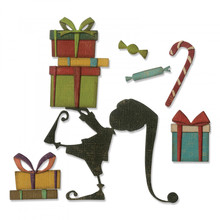 Sizzix Thinlits Alterations Santa's Helper (664192)