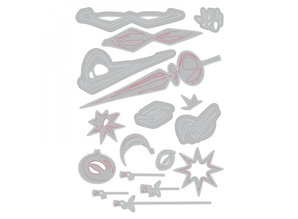 Sizzix Thinlits Alterations Hanging Ornaments (664197)