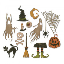 Sizzix Thinlits Alterations Frightful Things (664209)