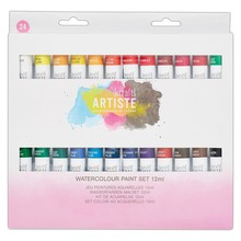 Artiste Watercolour Paint Set 12ml (24pk) (DOA 551005)
