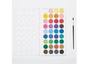 Artiste Watercolour Paint Pan Set (36pk) (DOA 7691106)