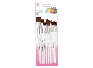 Artiste Watercolour Paint Brush Set (10pk) (DOA 551003)