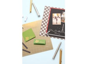 We R Memory Keepers Foil Quill Metal Sheet & Magnetic Strips (661000)