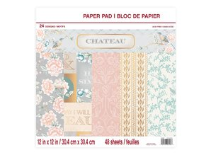 Craft Smith Chateau 12x12 Inch Paper Pad (MSE4312)