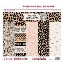 Craft Smith Wild Side 12x12 Inch Paper Pad (MSE4314)