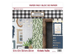 Craft Smith Farmhouse 12x12 Inch Paper Pad (MSE4315)