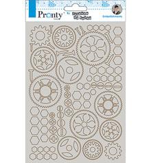 Pronty Crafts Chipboard A5 Gears (492.010.002)