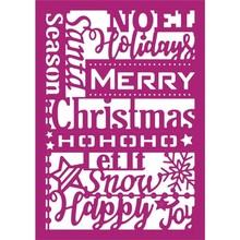 Gemini Christmas Greetings Papercraft Die (GEM-MD-CAD-CGRE-A6)