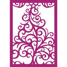 Gemini Swirling Tree Papercraft Die (GEM-MD-CAD-SWTR-A6)