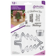 Gemini Christmas Tree Stamp & Die (GEM-STD-CTRE)