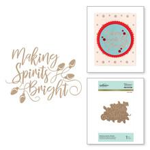 Spellbinders Making Spirits Bright Hot Foil Plate (GLP-050)