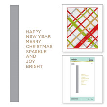 Spellbinders Holiday Sentiments Hot Foil Plate (GLP-111)