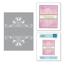 Spellbinders Dotted Lace Cut & Emboss Folder (CEF-007)