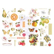 Prima Marketing Inc Fruit Paradise 5x8 Inch Chipboard ( 639778)