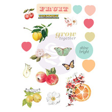 Prima Marketing Inc Fruit Paradise Puffy Stickers (638481)