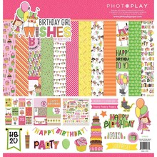 Photoplay Birthday Girl Wishes 12x12 Inch Collection Pack (BWG9073)