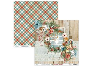 Mintay Home for Christmas 12x12 Inch Scrapbooking Paper Set (MT-HFC-07)