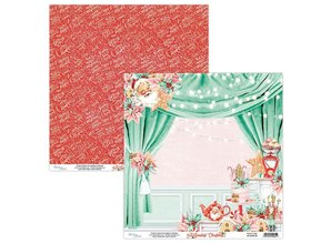 Mintay The Sweetest Christmas 12x12 Inch Scrapbooking Paper Set (MT-SWE-07)