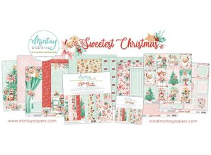 Mintay The Sweetest Christmas 6x6 Inch Scrapbooking Paper Pad (MT-SWE-08)