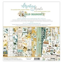 Mintay Old Manor 12x12 Inch Scrapbooking Paper Set (MT-OLD-07)