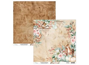 Mintay Cozy Evening 12x12 Inch Scrapbooking Paper Set (MT-COZ-07)