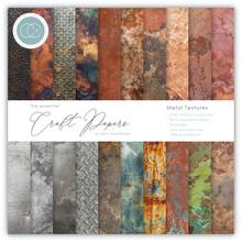 Craft Consortium Metal Textures 6x6 Inch Paper Pad (CCEPAD005B)