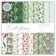 Craft Consortium Tropical Paradise 6x6 Inch Paper Pad (CCEPAD006B)