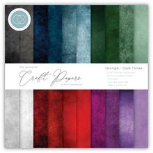 Craft Consortium Grunge Dark Tones 6x6 Inch Paper Pad (CCEPAD007B)