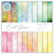 Craft Consortium Grunge Light Tones 6x6 Inch Paper Pad (CCEPAD008B)