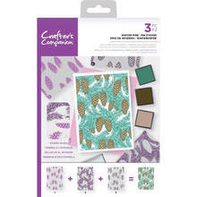 Crafter's Companion Winter Pine Background Layering Stamps (CC-STP-WINP)