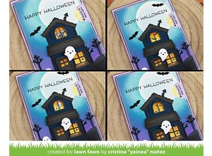 Lawn Fawn Tiny Halloween Clear Stamps (LF2020)