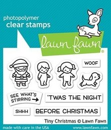 Lawn Fawn Tiny Christmas Clear Stamps (LF2022)
