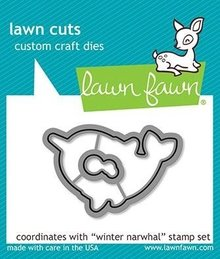 Lawn Fawn Winter Narwhal Dies (LF2039)