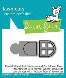 Lawn Fawn Reveal Wheel Build-a-House Add-on Dies (LF2049)