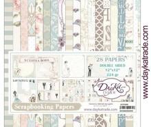 Dayka Nuestra Boda 12x12 Inch Paper Pack (SCP-3005)
