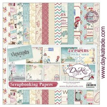 Dayka Vacaciones 12x12 Inch Paper Pack (SCP-3006)