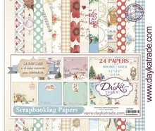 Dayka La Navidad 12x12 Inch Paper Pack (SCP-3007)