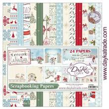 Dayka Me encanta La Navidad 12x12 Inch Paper Pack (SCP-3009)