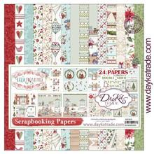 Dayka Feliz Navidad 12x12 Inch Paper Pack (SCP-3010)