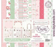 Dayka Mi Primera Comunión Niña 12x12 Inch Paper Pack (SCP-3013)