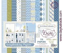 Dayka Mi Primera Comunión Niño 12x12 Inch Paper Pack (SCP-3014)