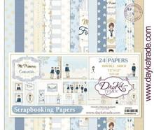 Dayka Mi Primera Comunión Niño 12x12 Inch Paper Pack (SCP-3016)