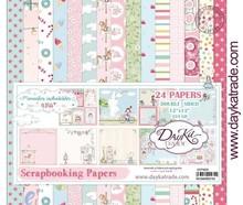 Dayka Momentos inolvidable Niña 12x12 Inch Paper Pack (SCP-3020)