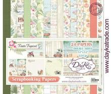 Dayka Fiesta Tropical 12x12 Inch Paper Pack (SCP-3022)